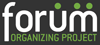 Logo for Forum Organizing